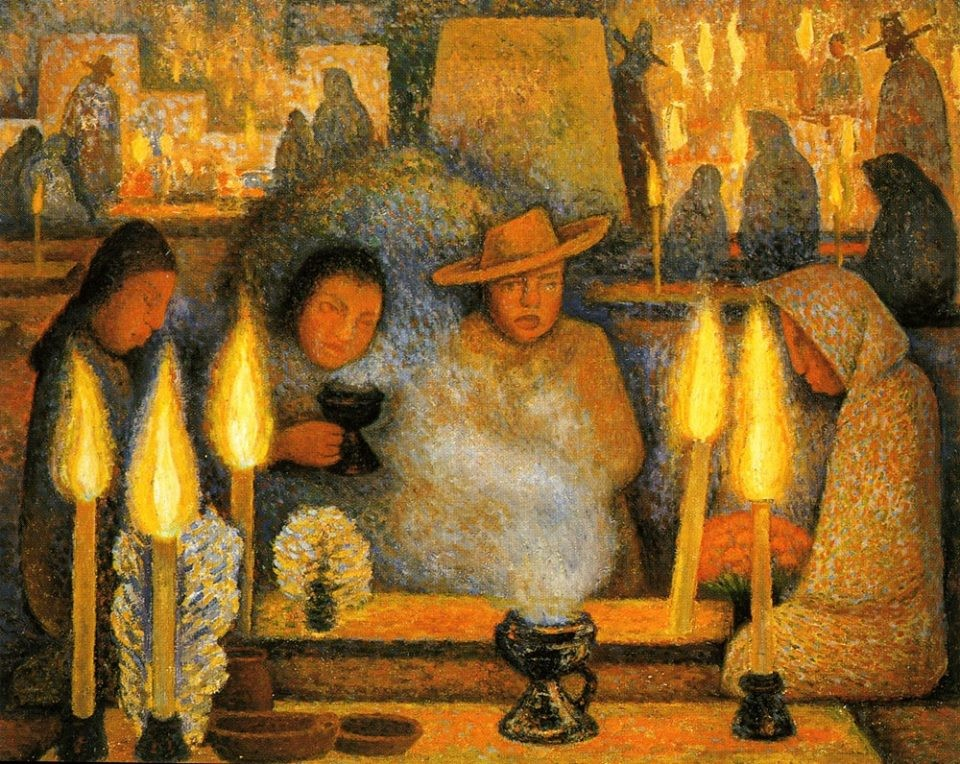 Day of the Dead (Dia de muertos), 1944 Diego Rivera